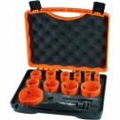 Alcock Hole Saw Set 11 Piece (General Purpose)