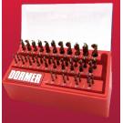 Dormer Drill Boy 3mm - 13mm 43pce
