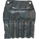 6 Piece Hollow Punch Set