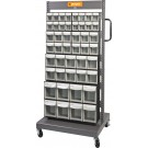 Geiger Mobile Tipout Sorting Cart