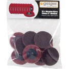 Geiger 50mm Maroon-Medium Abrasive Pkt 10 [To Suit SI2201 and SI2210R]