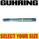 Guhring Gun Taps (General Purpose) 3.0mm to 16.0mm