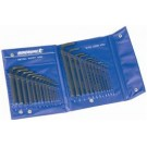 Kincrome Hex Key Wrench Set AF and Metric 25 Piece