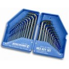 Kincrome Hex Key Wrench Set 30 Piece AF and Metric