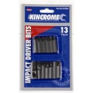 Kincrome Impact Driver Bits 13 Piece