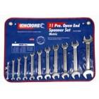 Kincrome Open End Spanner Set 11 Piece Metric