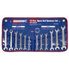 Kincrome Open End Spanner Set 12 Piece AF and Metric