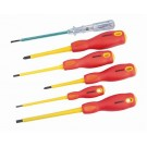 Kincrome Electricians Screwdriver Set Insulated 6 Piece