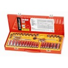 Supatool Socket Set 42 Piece Imperial and Metric 3/8 Square Drive