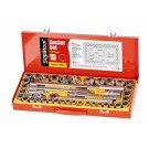 Supatool Socket Set 43 Piece Imperial and Metric 1/2 Square Drive