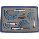 Measumax 0 - 4 Inch Imperial Outside Micrometer Set
