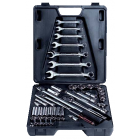 Metrinch 50 Piece Socket And Spanner Set