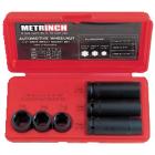 Metrinch 6 Piece 1/2 Inch Wheel Nut Socket Set