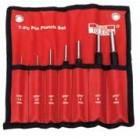 Toledo Heavy Duty Pin Punch Set 7 Piece