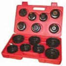 Toledo Oil Filter Remover Set 15 Piece