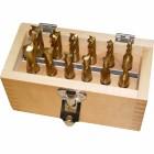 Toolmaster HSS Slot Drill / End Mill Set 12 Piece Metric