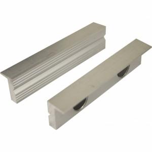 Toolmaster Soft Jaws - 125mm - Aluminium Plain Face
