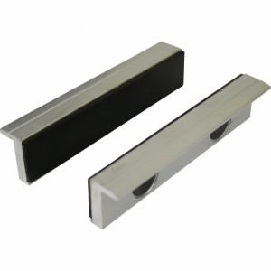 Toolmaster Soft Jaws - 125mm - Aluminium Back - Rubber Face