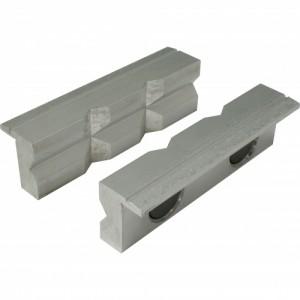 Toolmaster Soft Jaws - 100mm - Aluminium Prism Face